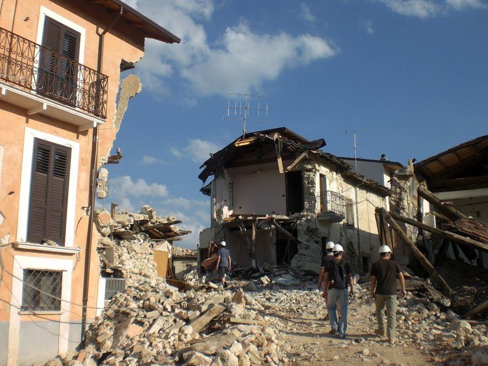 ingestorte ziekenhuis L'Aquila