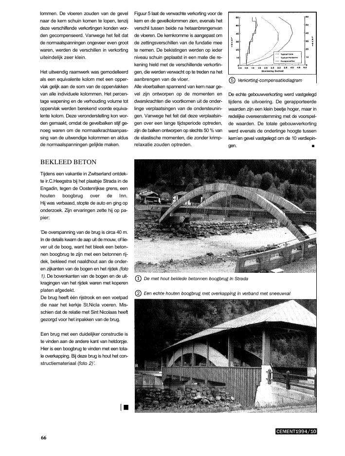Cement kennisplatform over betonconstructies - Bekleed beton ...
