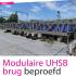 Modulaire UHSB brug beproefd