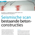 Seismische scan bestaande betonconstructies