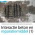 Interactie beton en reparatiemiddel (1)